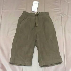 NWT Gymboree boys 6-12m brown fleece pants